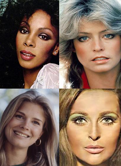 70 u0026 39 s inspired makeup tutorial