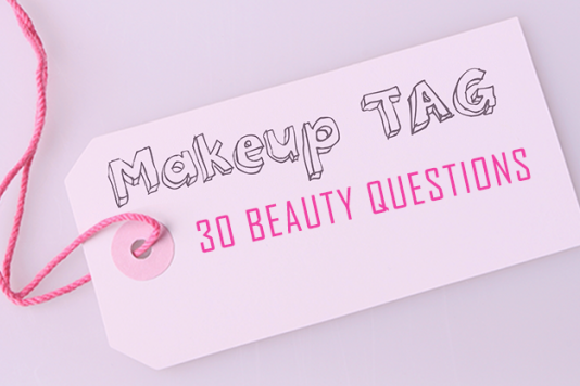 Beauty TAG : 30 Surprisingly Hard Questions graphic