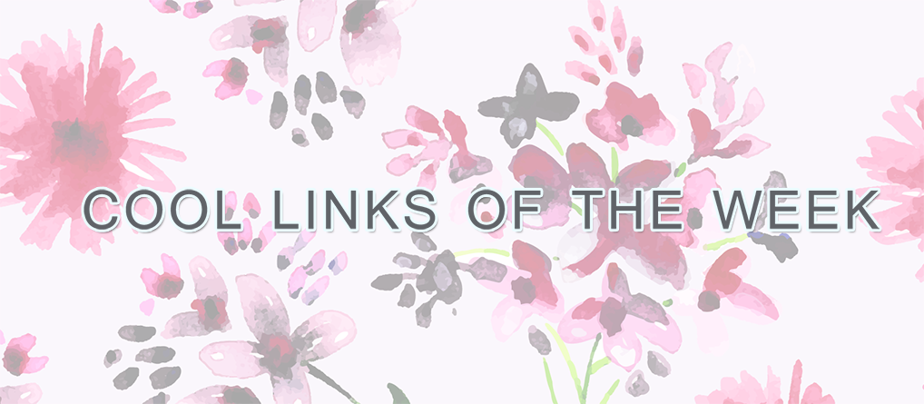 COOL LINKS OF THE WEEK graphic