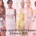 2015 Emmy's Best and Worst Dressed