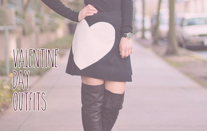 14 Real Women's Valentine's Day Looks graphic