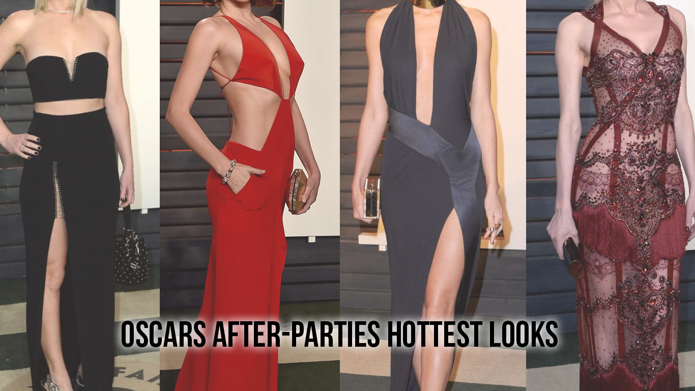 Oscars 2016 after-parties: The 8 Hottest Looks graphic