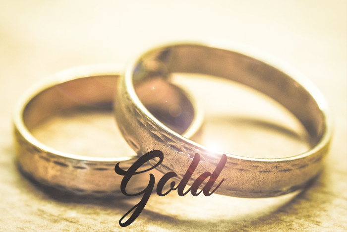 G is for… Gold graphic