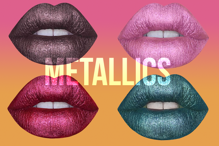 Trending: Metallic Lips! graphic