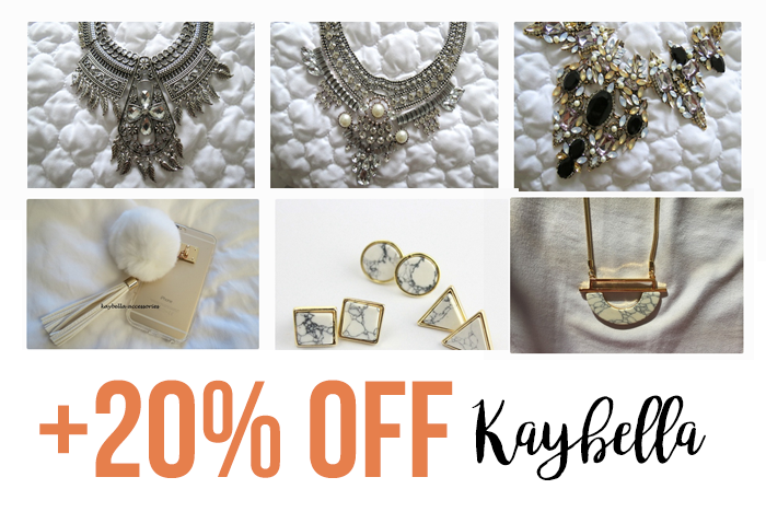 KayBella Boutique + 20% OFF graphic